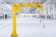 BZ Type Pillar Jib Crane