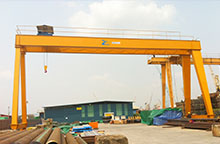 European type gantry crane