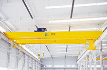 European type double girder overhead crane