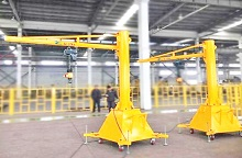 BZY Type Portable  Mobile Jib Crane